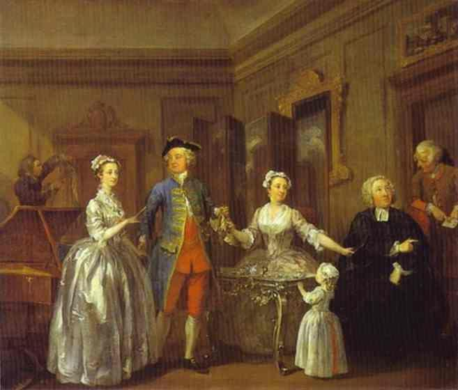 William Hogarth. The Mackinen Children.