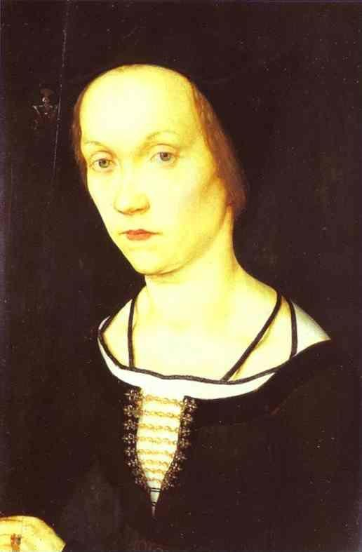 Hans Holbein the Elder. Portrait of a Woman.
