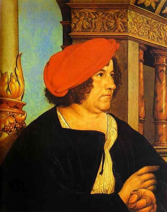 Hans Holbein. Portrait of Jakob Meyer.