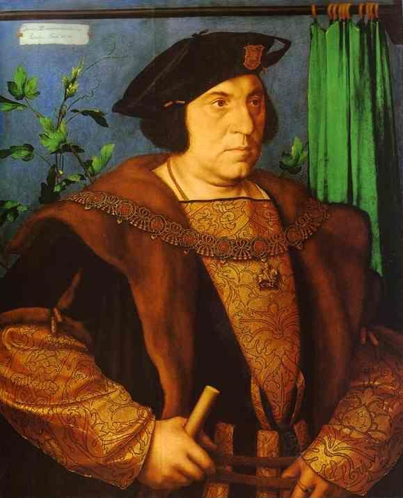 Hans Holbein. Portrait of Sir Henry Guildford.