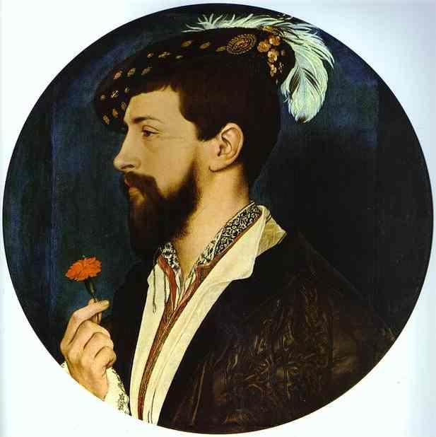 Hans Holbein. Portrait of Simon George of Quocote.