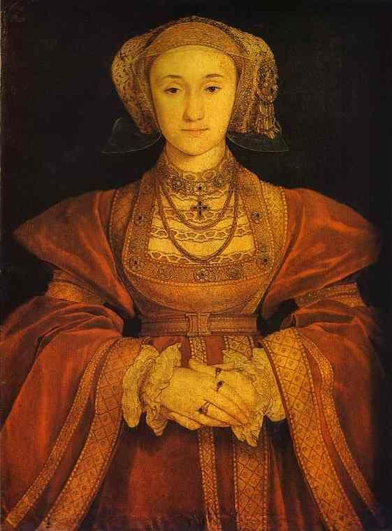 Hans Holbein. Portrait of Anne of Cleves.