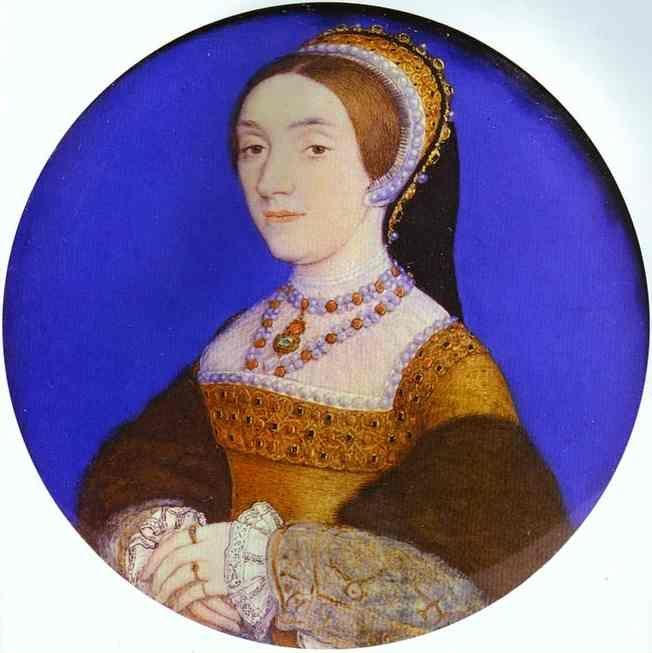Hans Holbein. Portrait of an Unknown Lady (Catherine Howard?).