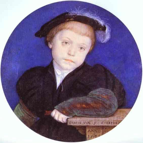 Hans Holbein. Portrait of Charles Brandon.