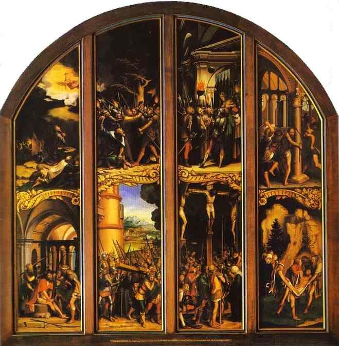 Hans Holbein. The Passion of Christ.
