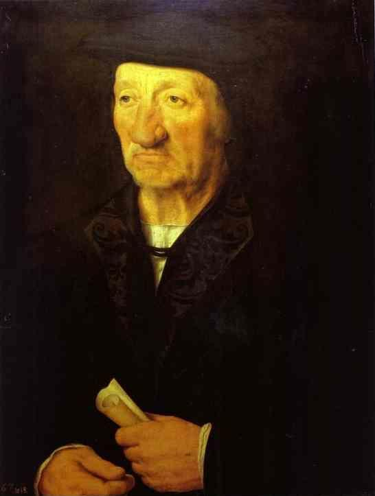 Hans Holbein. Portrait of an Old Man.