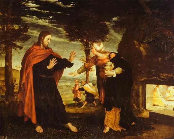 Hans Holbein. Noli Me Tangere.