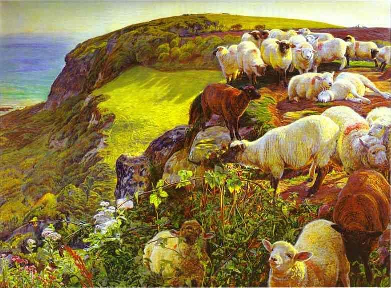 William Holman Hunt. Our English Coasts.