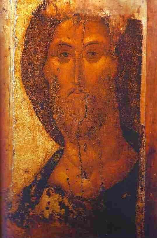Andrei Rublev. Our Savior. Detail.