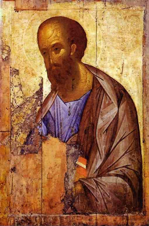 Andrei Rublev. Apostle Paul.