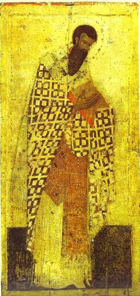 Theophanes the Greek. St. Basil the Great.