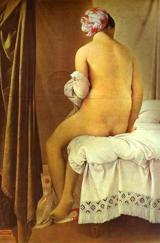 Jean-Auguste-Dominique Ingres. The Bather of Valpinçon.