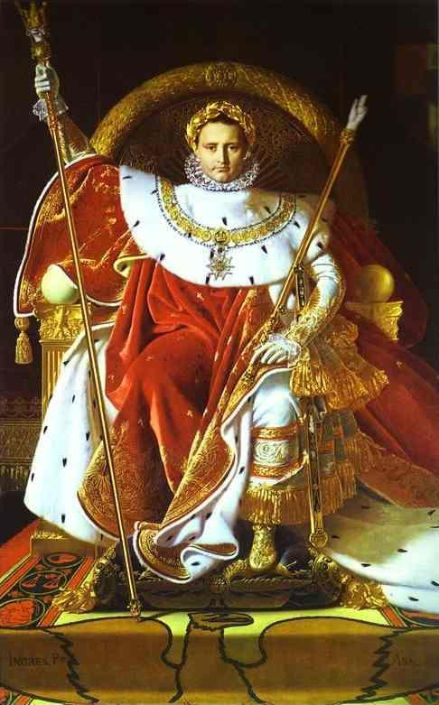 Jean-Auguste-Dominique Ingres. Portrait of Napoléon on the Imperial Throne.