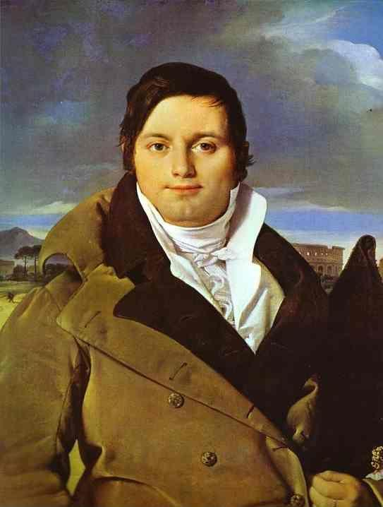 Jean-Auguste-Dominique Ingres. Portrait of Joseph-Antoine Moltedo.