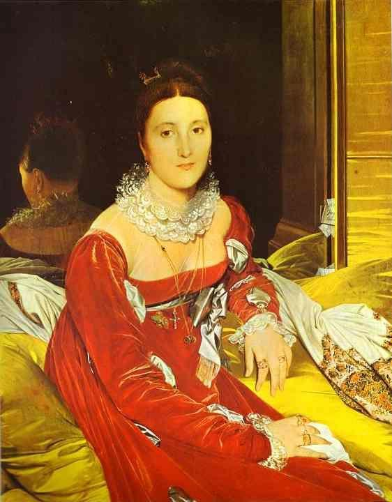 Jean-Auguste-Dominique Ingres. Portrait of Madame de Senonnes.