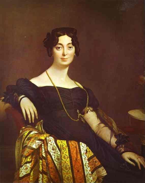 Jean-Auguste-Dominique Ingres. Portrait of Madame Leblanc.