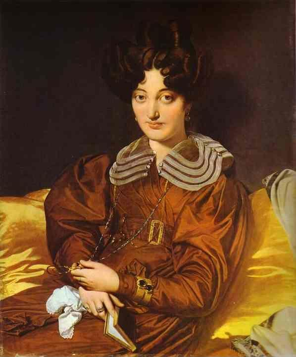Jean-Auguste-Dominique Ingres. Portrait of Madame Marcotte de Sainte-Marie.