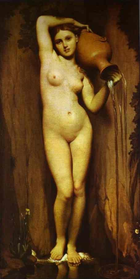 Jean-Auguste-Dominique Ingres. The Source.