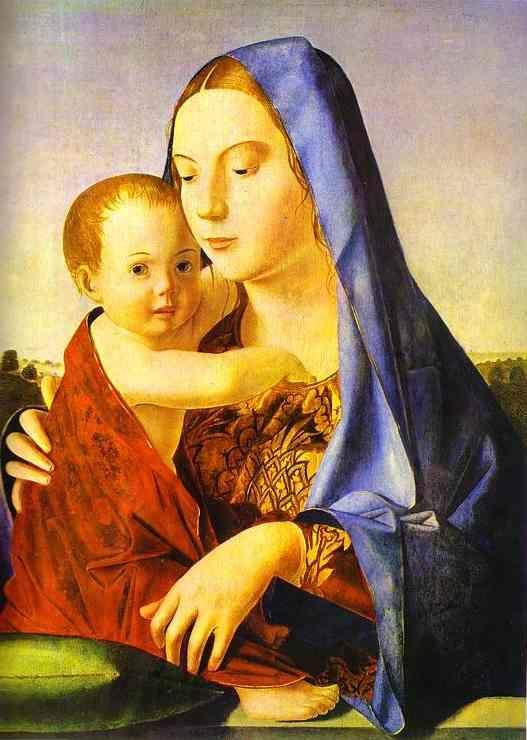 Antonello da Messina. Madonna and Child.