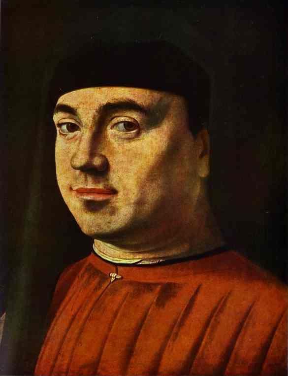 Antonello da Messina Portrait of a Man Antonello da Messina Portrait