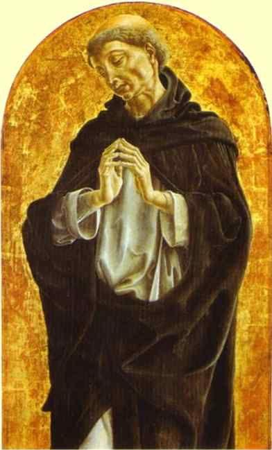 Cosme Tura. St. Dominic.