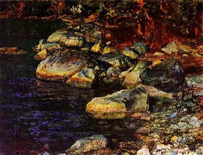Alexander Ivanov. Water and Stones Near Palacculo.