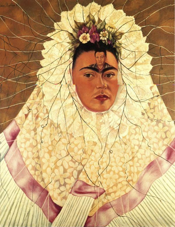 Frida Kahlo. Self-Portrait as a Tehuana.