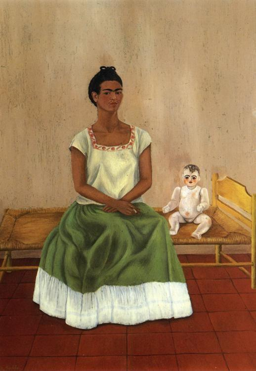 Frida Kahlo. Me and My Doll.