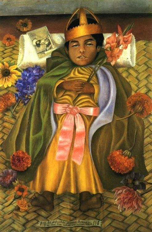 Frida Kahlo. The Deceased Dimas.