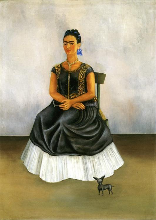 Frida Kahlo Itzcuintli Dog With Me Olga S Gallery