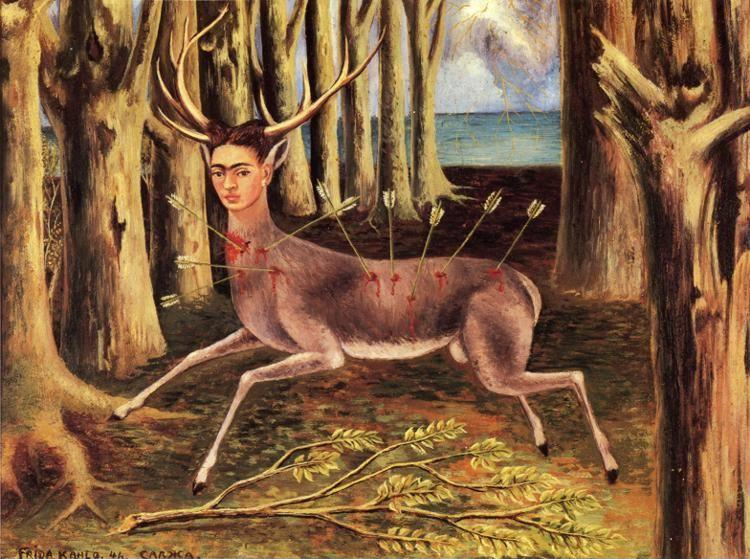 Frida Kahlo. The Little Deer.