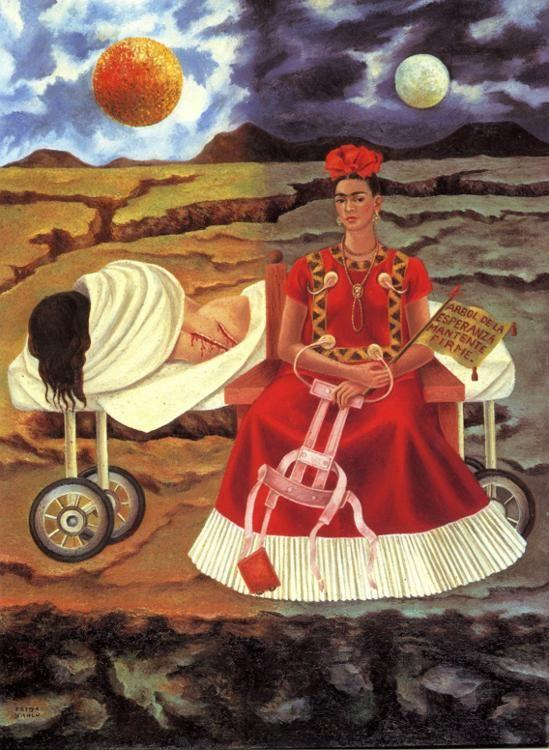 Frida Kahlo. Tree of Hope.