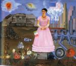 Frida Kahlo. Self-Portrait on the Border Line Between Mexico and the United States.