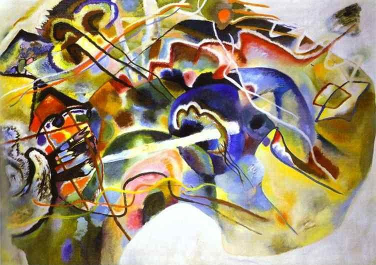 Wassily Kandinsky. Picture with White Border.