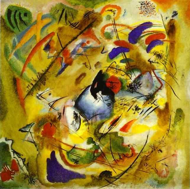 Wassily Kandinsky. Dreamy Improvisation.