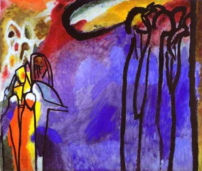 Wassily Kandinsky. Improvisation 19.