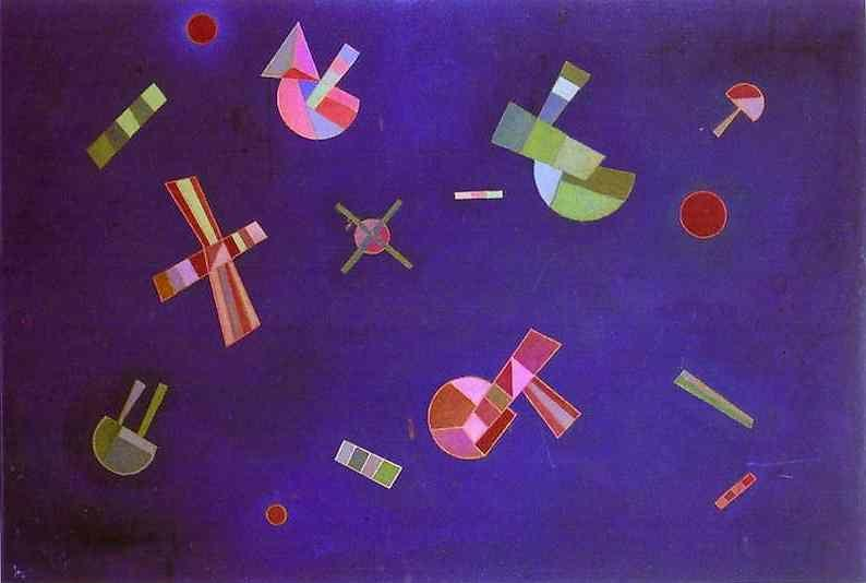 Wassily Kandinsky. Fixed Flight.