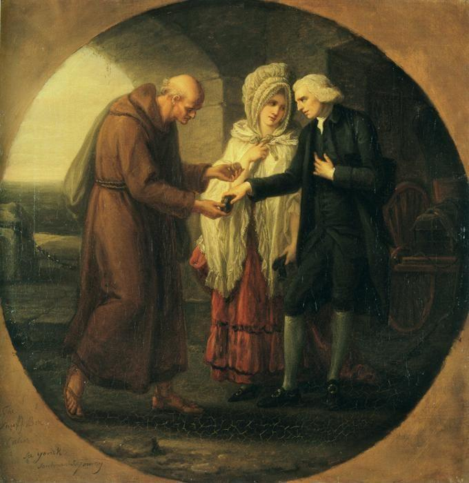 Angelica Kauffman. The Monk of Calais.