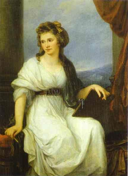 Angelica Kauffman. Self-Portrait.
