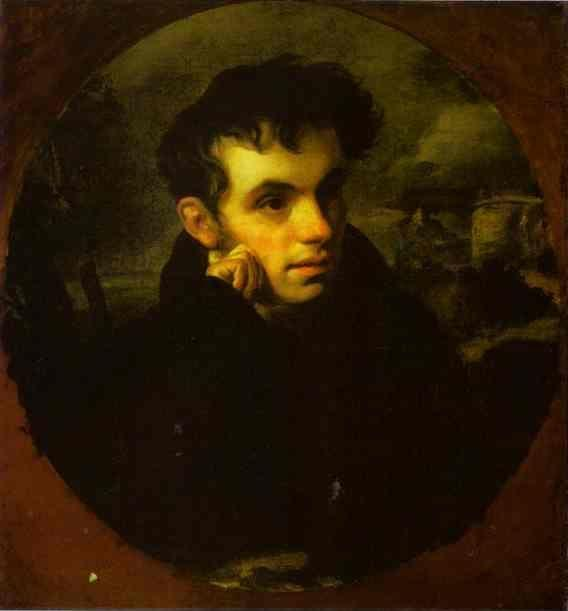 Orest Kiprensky. Portrait of the Poet V. A. Zhukovsky.