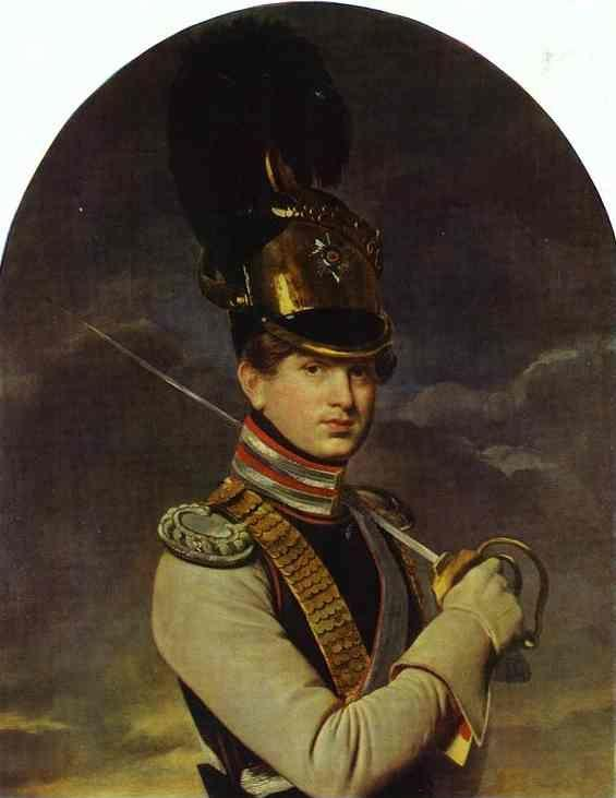 Orest Kiprensky. Portrait of the Prince N. P. Trubetzkoy.