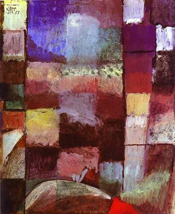 Paul Klee. On a Motif from Hamamet.