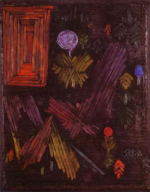 Paul Klee. Gate in the Garden.