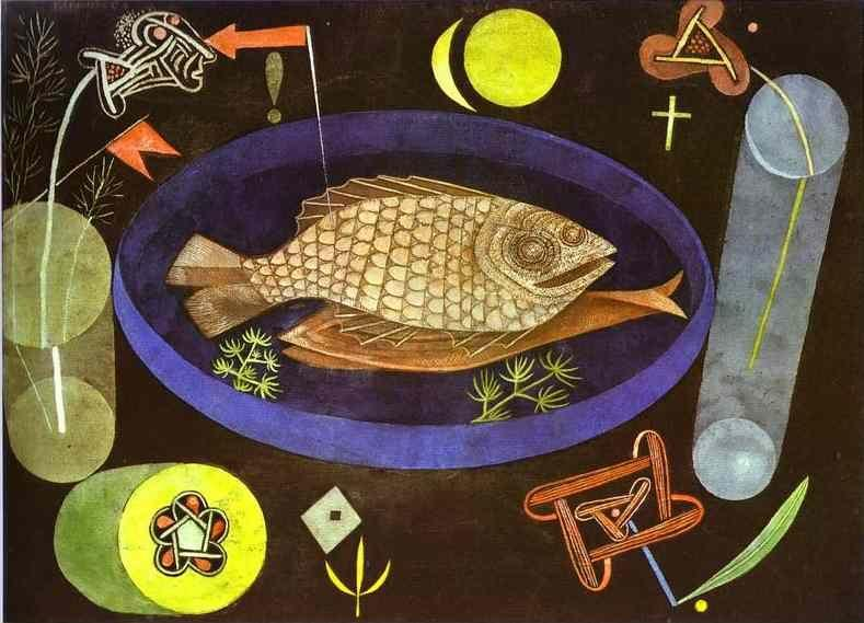 Paul Klee. Around the Fish.