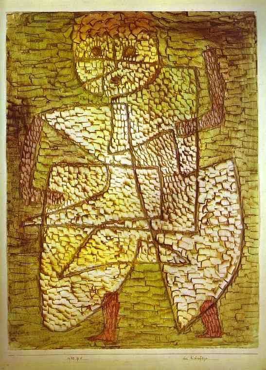 Paul Klee. The Future Man.