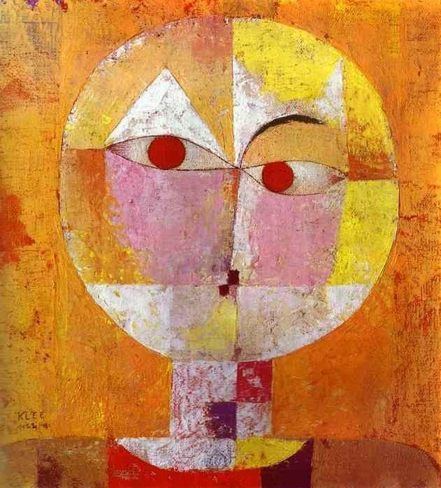 Paul Klee. Senecio.