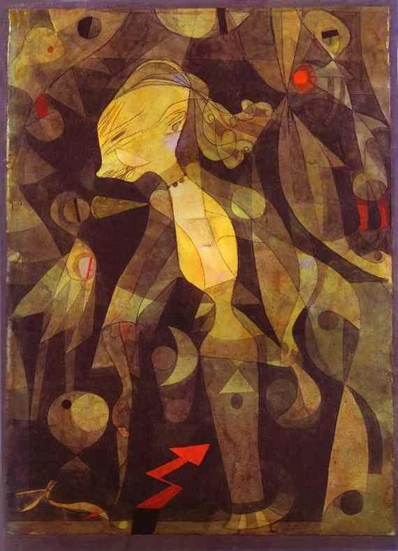 Paul Klee. A Young Lady's Adventure.