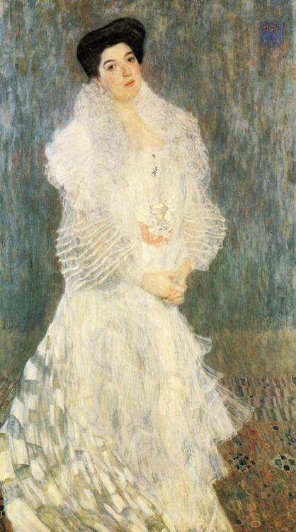 Gustav Klimt. Portrait of Hermine Gallia.