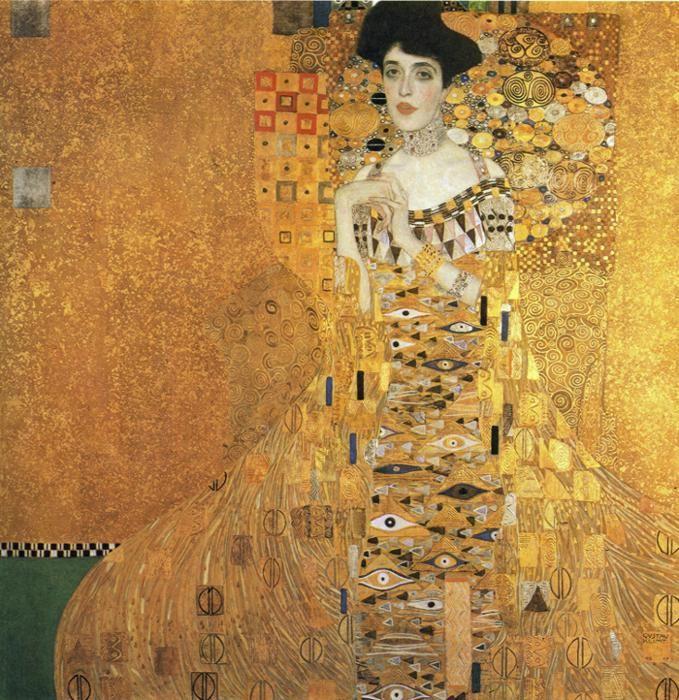 Gustav Klimt. Portrait of Adele Bloch-Bauer I.