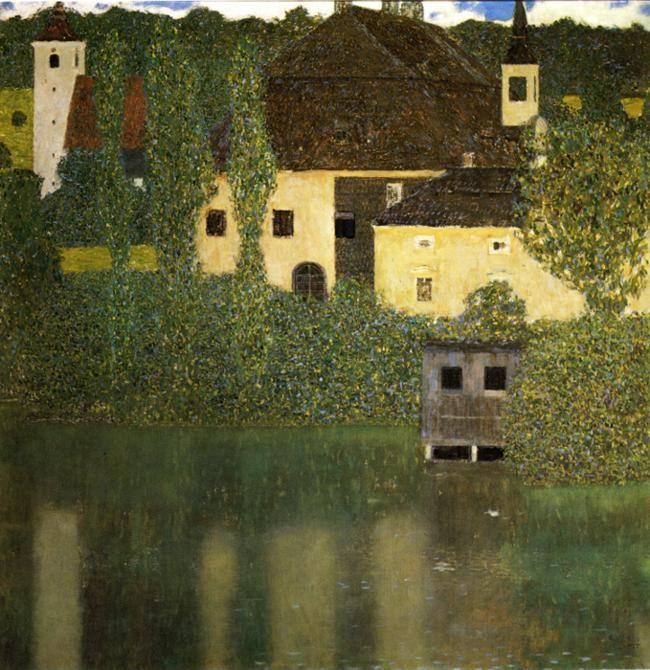 Gustav Klimt. Water Castle.